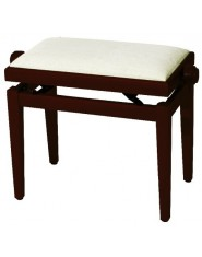 Piano bench FX Cherry tree matt Beige seat