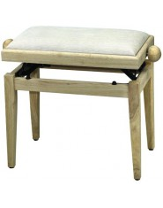 FX Piano bench de Luxe Natural Beige seat