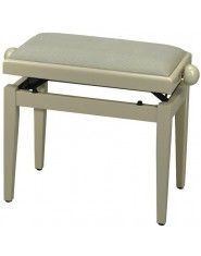 FX Piano bench de Luxe Ivory high gloss Beige seat