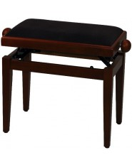 FX Piano bench de Luxe Cherry tree matt Brown seat