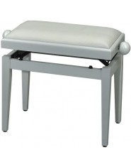 FX Piano bench de Luxe White high gloss White seat