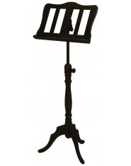 Chester Music Stand Maple walnut coloured