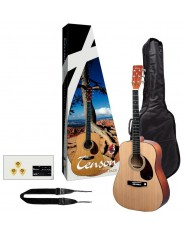 TENSON Acoustic Guitar Player Pack Guitar natural