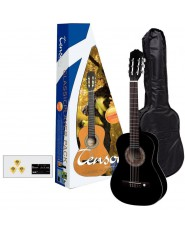 TENSON Classic guitars 3/4-Player Pack Guitar black