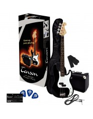 TENSON E-Bass P Player Pack Black