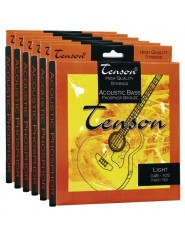 TENSON Strings Acoustic Bass Phosphor Bronze .045-.105, Medium/Light