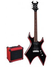BC RICH RED BEVEL PACK