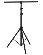BSX Lighting Stands Aluminium black