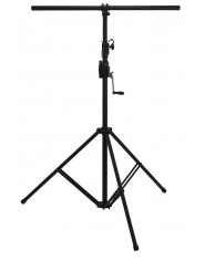 BSX Lighting Stands Steel black with crank