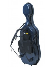 Gewa Cello case carrying system Idea with Fiedler carrying system Dark blue/blue