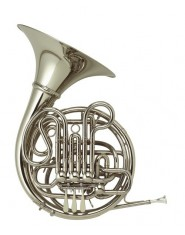 HOLTON DOUBLE FRENCH HORN MERKEL-MATIC H175 WITH SCREW BELL
