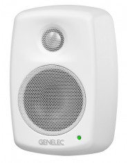 Compact two-way Active Loudspeaker System (White) 4010A